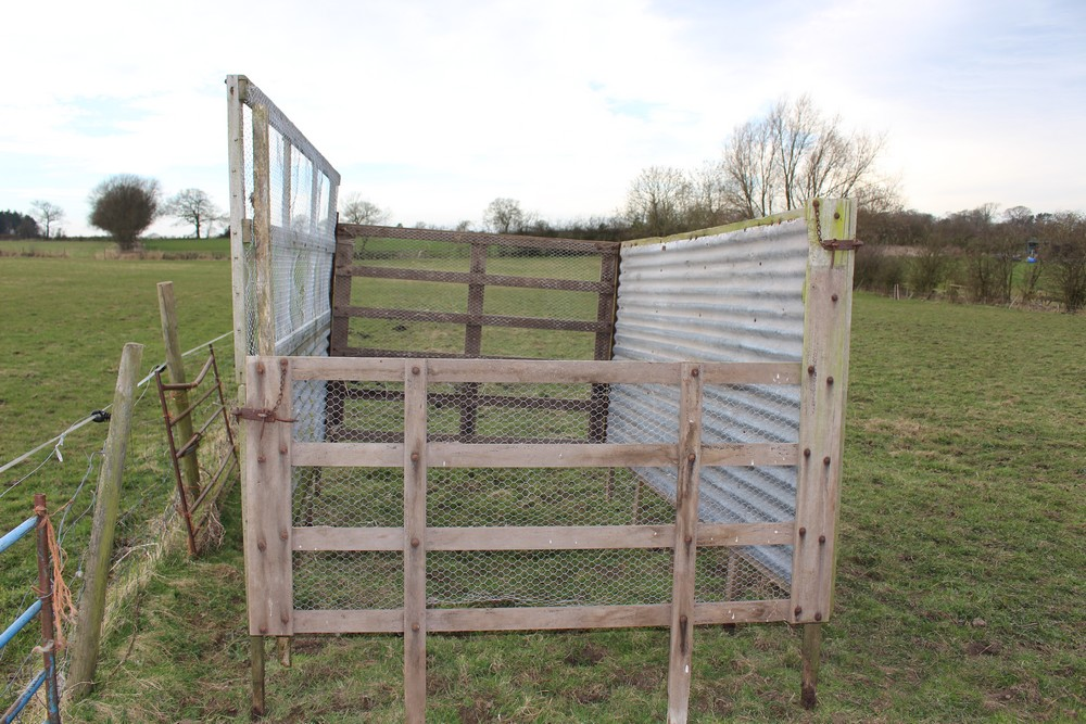 Ferguson silage sides for tipping trailer