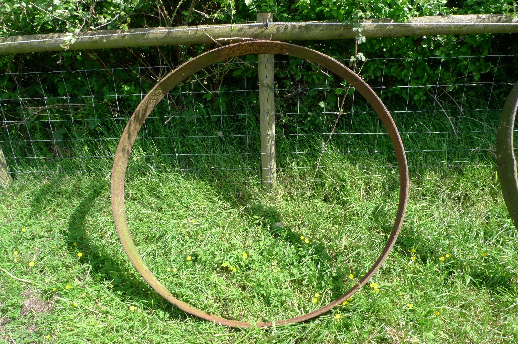 Cart wheel rim