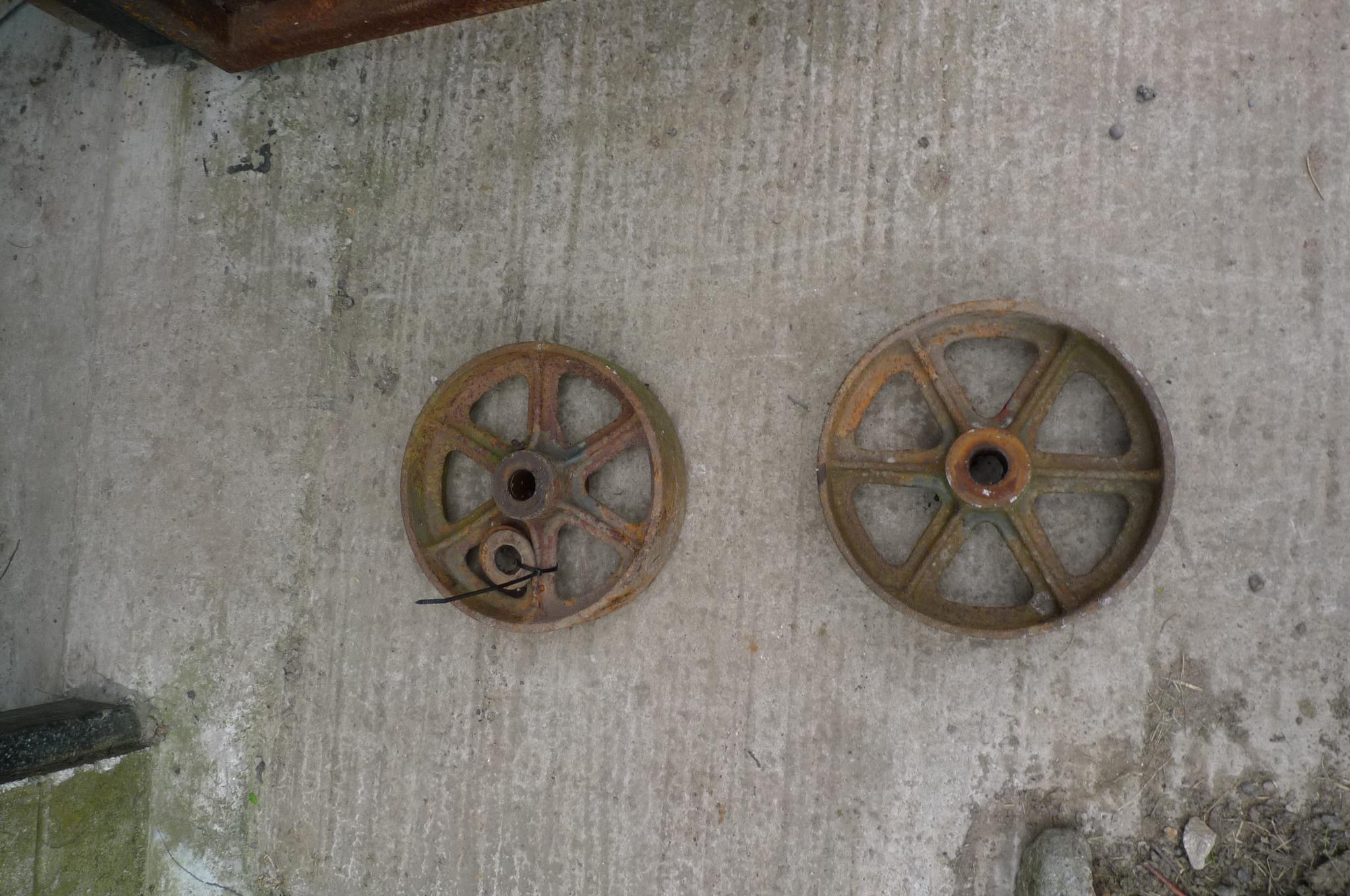 Implement wheel