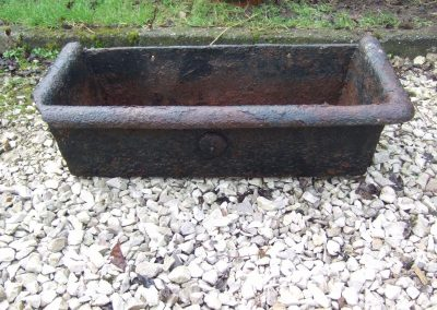 Cast iron water trough